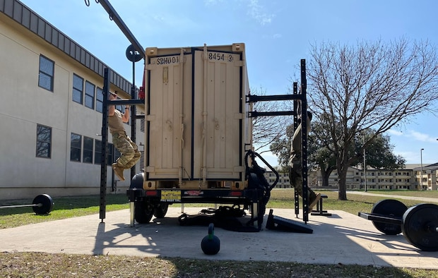 Beaver Fit Gym Boxes at Joint Base San Antonio-Lackland, Texas, provide better access to members.