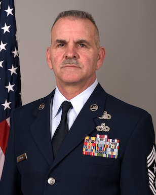 As the command chief, Chief Master Sgt. Brian K.Carroll's mission is to advocate on behalf of the enlisted force to ensure issues with their readiness, professional development, training, and quality of life are addressed.   Chief Carroll enlisted in the active duty Air Force in 1984 and served four years as an F-4 Phantom crew chief while stationed at George Air Force Base, Calif. In 1990, he enlisted in the Wisconsin Air National Guard and joined the 115th Fighter Wing at Truax Field – switching airframes to become an A-10 crew chief. Chief Carroll moved on to his third airframe in 1992 when the F-16 Fighting Falcon came to Madison, Wis. Before assuming his current position, Chief Carroll served in many capacities, to include aircraft maintainer, flight leader, and crew chief supervisor. Prior to his current position, Chief Carroll was the superintendent of the 115th Fuels Management Flight, 115th FW, Truax Field, Madison, Wis.