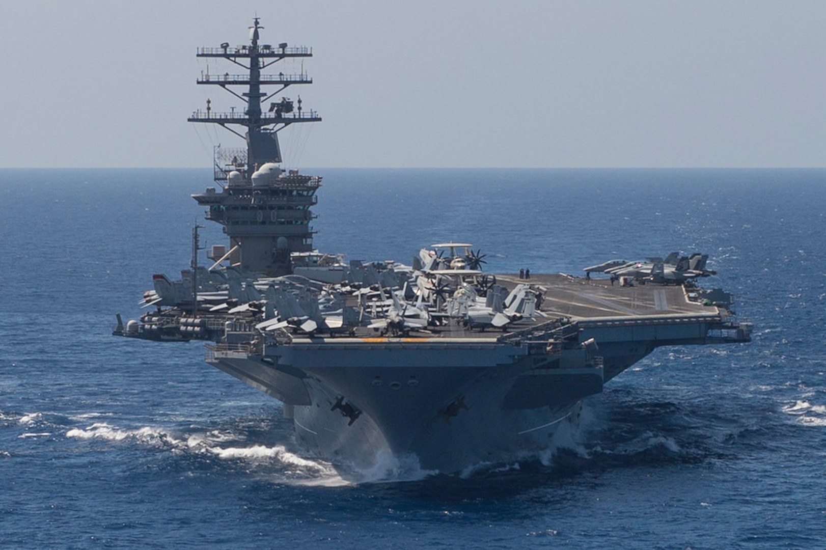 Nimitz Carrier Group Sails into Indo-Pacific Command