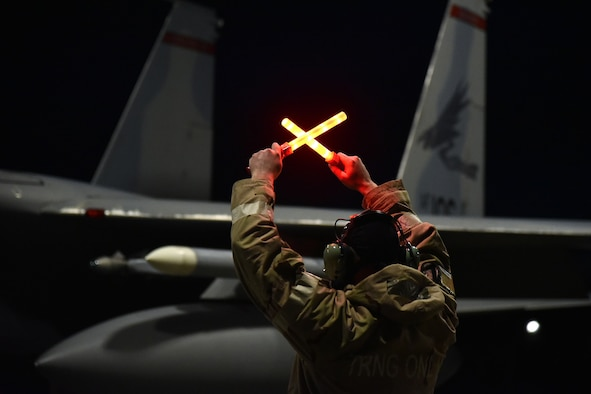 142nd Wing Night Flying