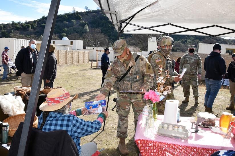 PSYOP students combat propaganda in village market exercise