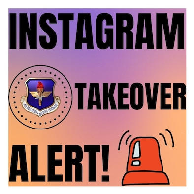 Graphic for Instagram to highlight when Force Generators take over our Instagram social platform