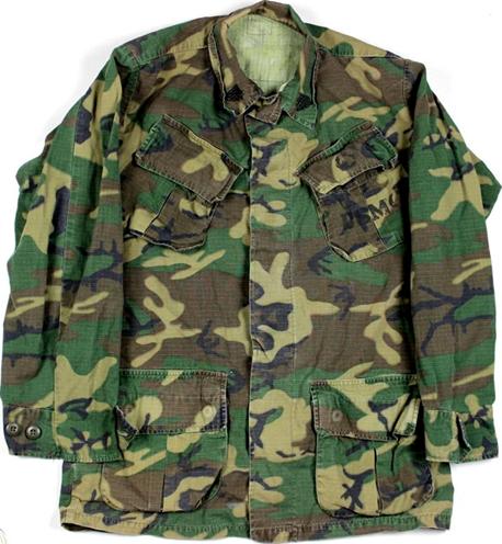 ERDL camouflage pattern jacket