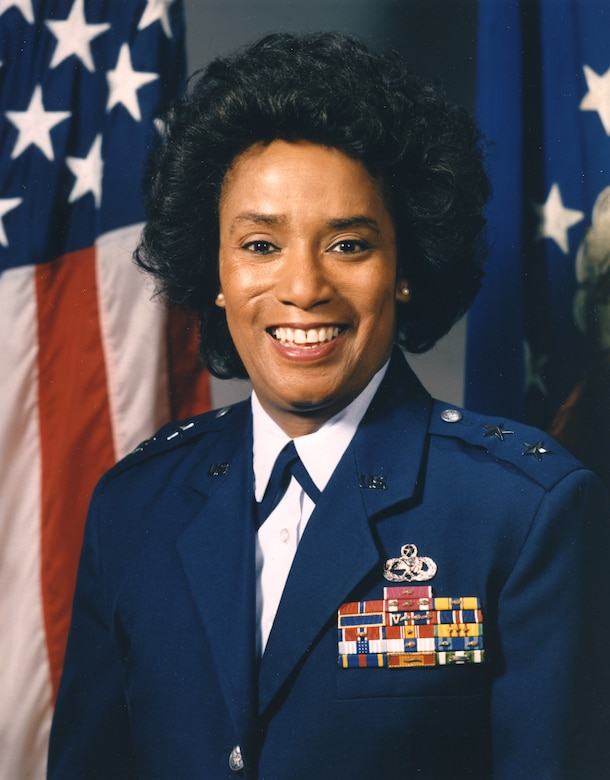 Maj. Gen. Marcelite J. Harris was the first woman aircraft maintenance officer, one of the first two women air officers commanding at the U.S. Air Force Academy and the first woman deputy commander for maintenance. She also served as a White House social aide during the Carter administration.