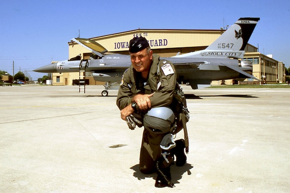 Colonel Dennis Swantrom 185th Fighter Wing Sioux City, Iowa