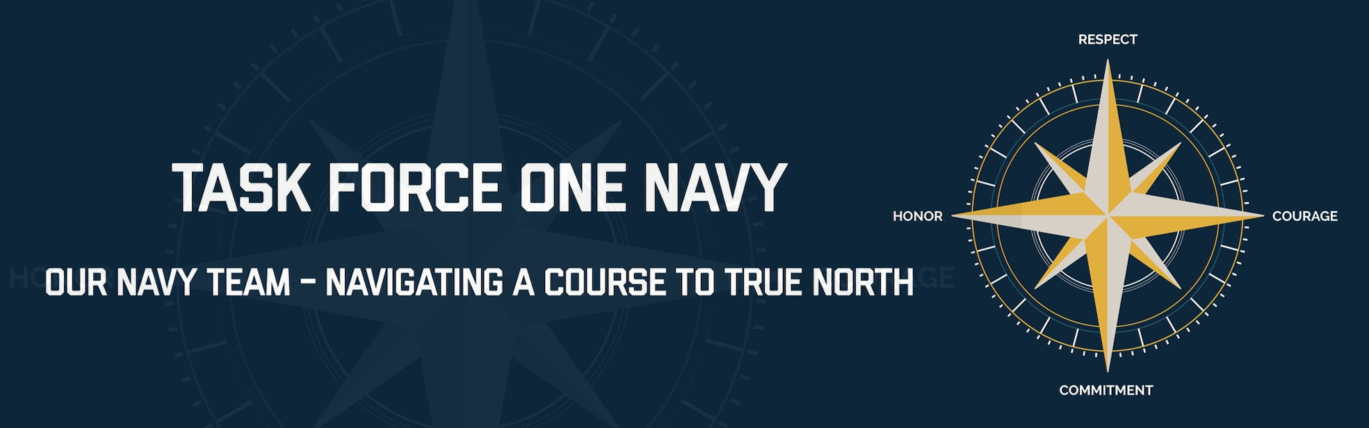 Task Force 1 Navy Web Banner