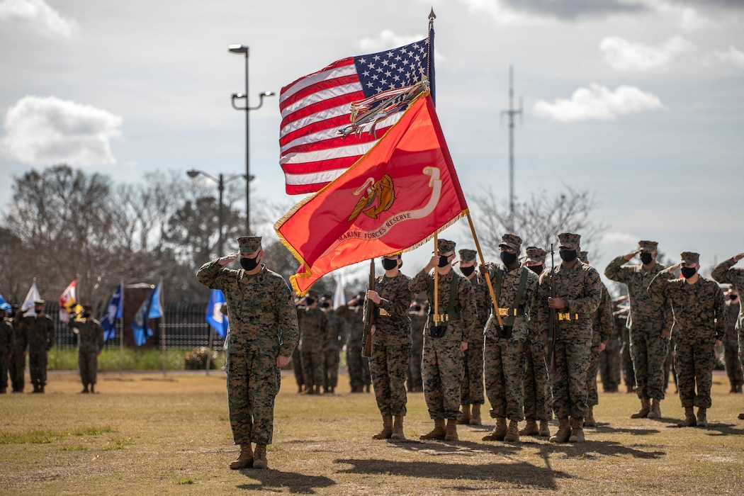 MARFORRES Sgt. Maj. Relief and Appointment