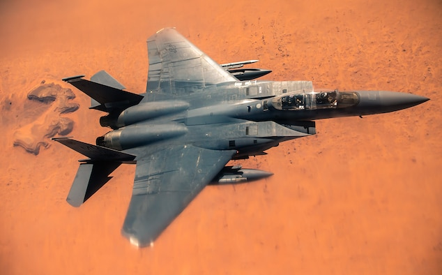 350th EARS provides fuel to F-15