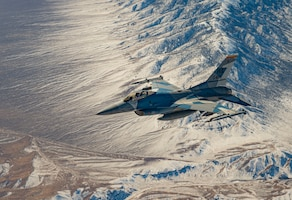 906th Air Refueling Squadron refuels the 'Red Team' during Red Flag 21-1 at Nellis