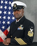 Aviation Machinist's Mate Senior Chief Petty Officer Emefre Nkere