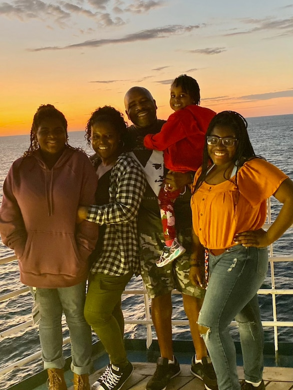 Chief Wheeler with his family on vacation
