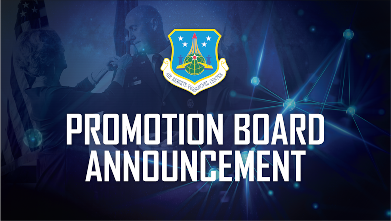 The results of the Calendar Year 2020 U.S. Air Force Reserve Colonel Line and Non-line Promotion Selection Boards will be publicly released Friday, Feb. 12, 2021. A complete promotion selection list will be made available at this time and published in a news release on this same day.