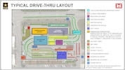 Typical Drive-Thru Layout Graphic