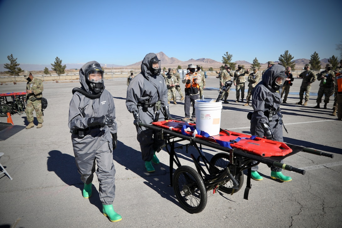 76th Operational Response Command search and rescue operations