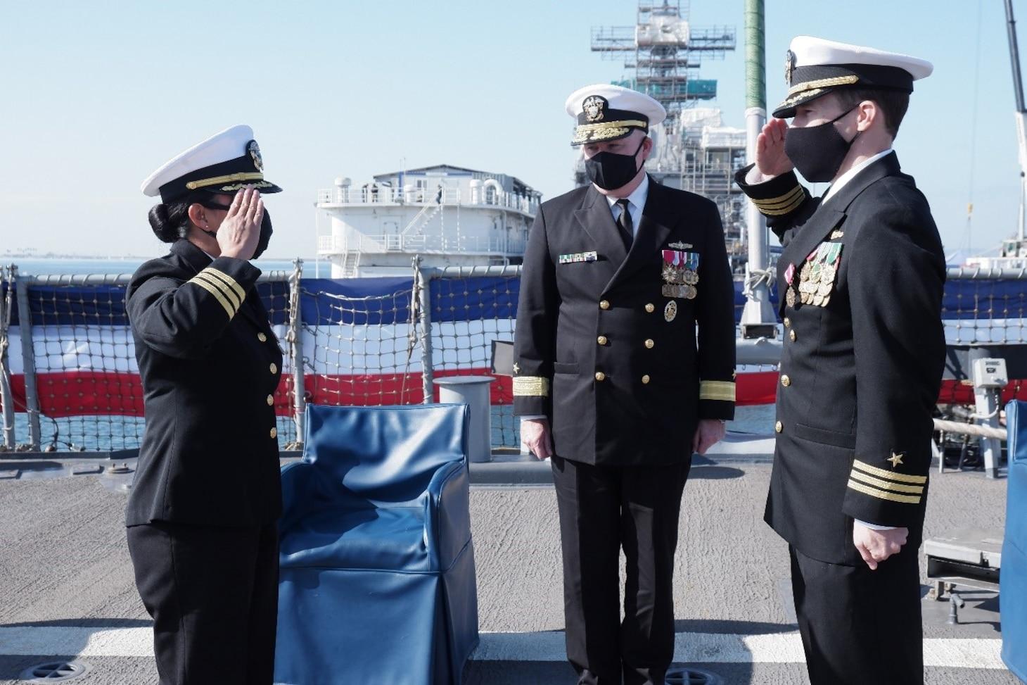 USS O'Kane Change of Command