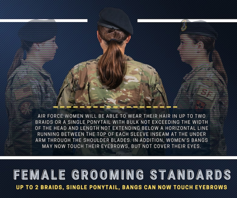 Air Force Female Grooming Standards