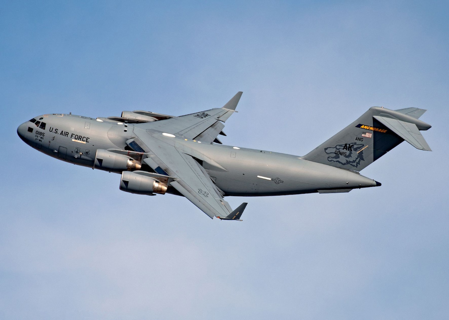 Firebirds training in southwestern US highlights C-17 capabilities