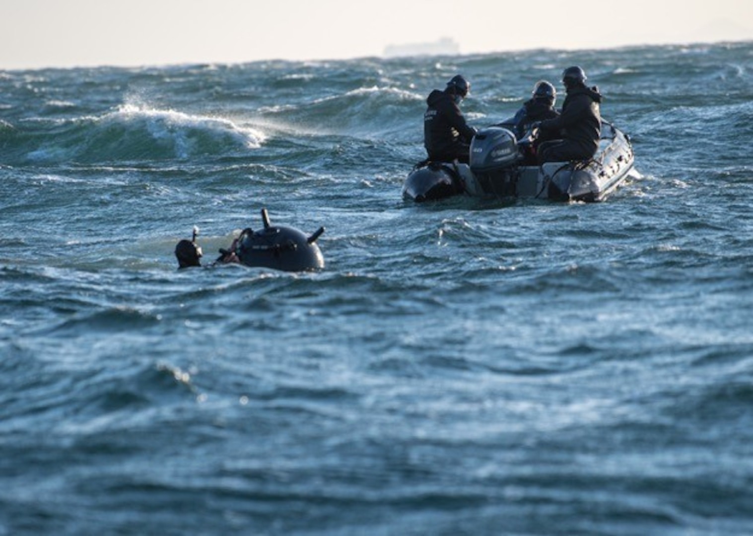 U.S. Naval Forces and Japan Maritime Self-Defense Forces Conduct Bilateral Mine Warfare Exercise