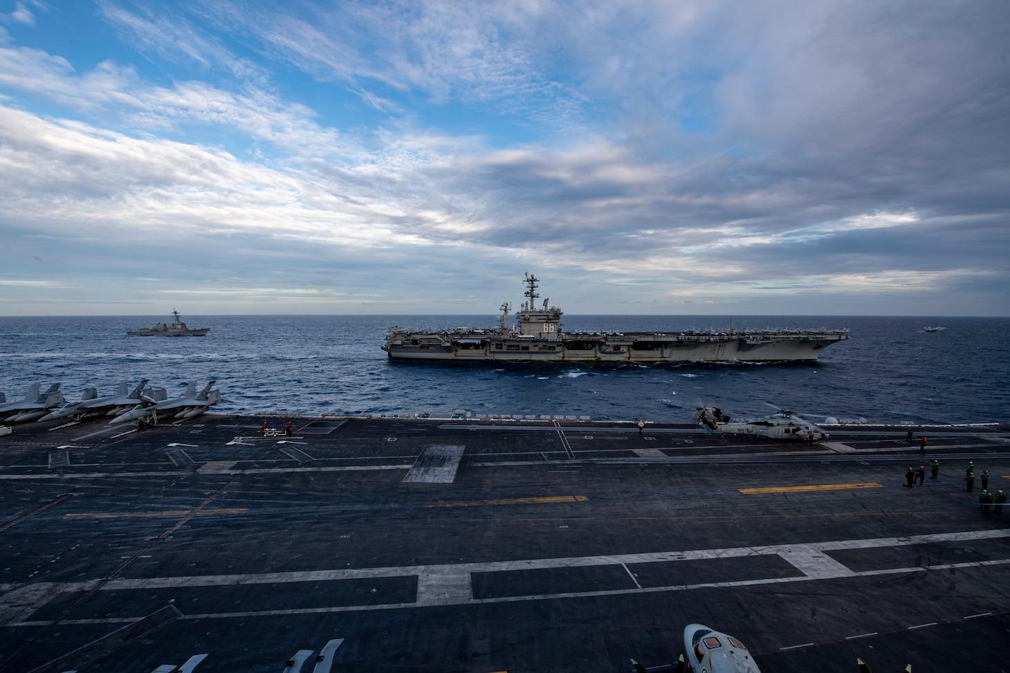 U.S. Navy Carriers Keep Freedom Safe