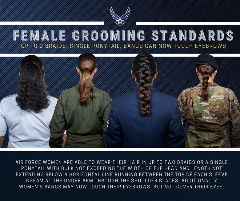 Air Force Female Grooming Standards