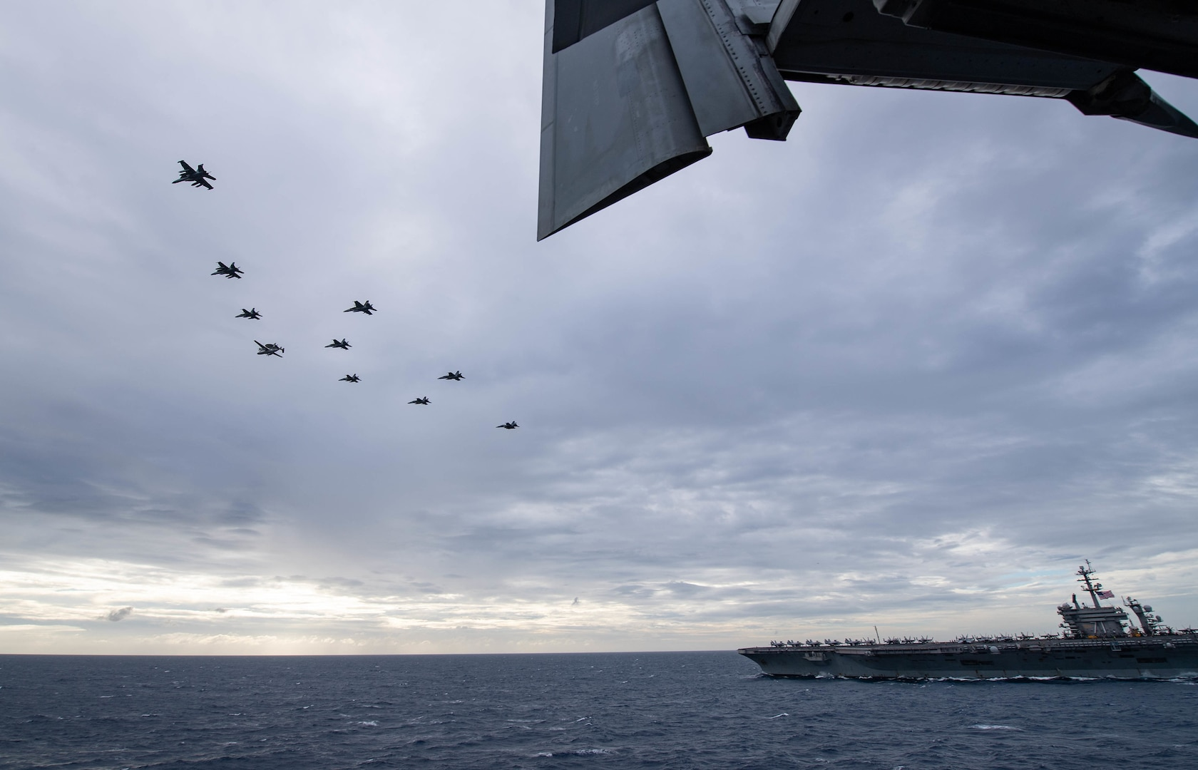 Theodore Roosevelt Carrier Strike Group Operates with Nimitz Carrier Strike Group
