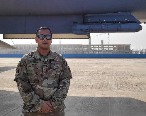 Indian-born Airman proudly serves