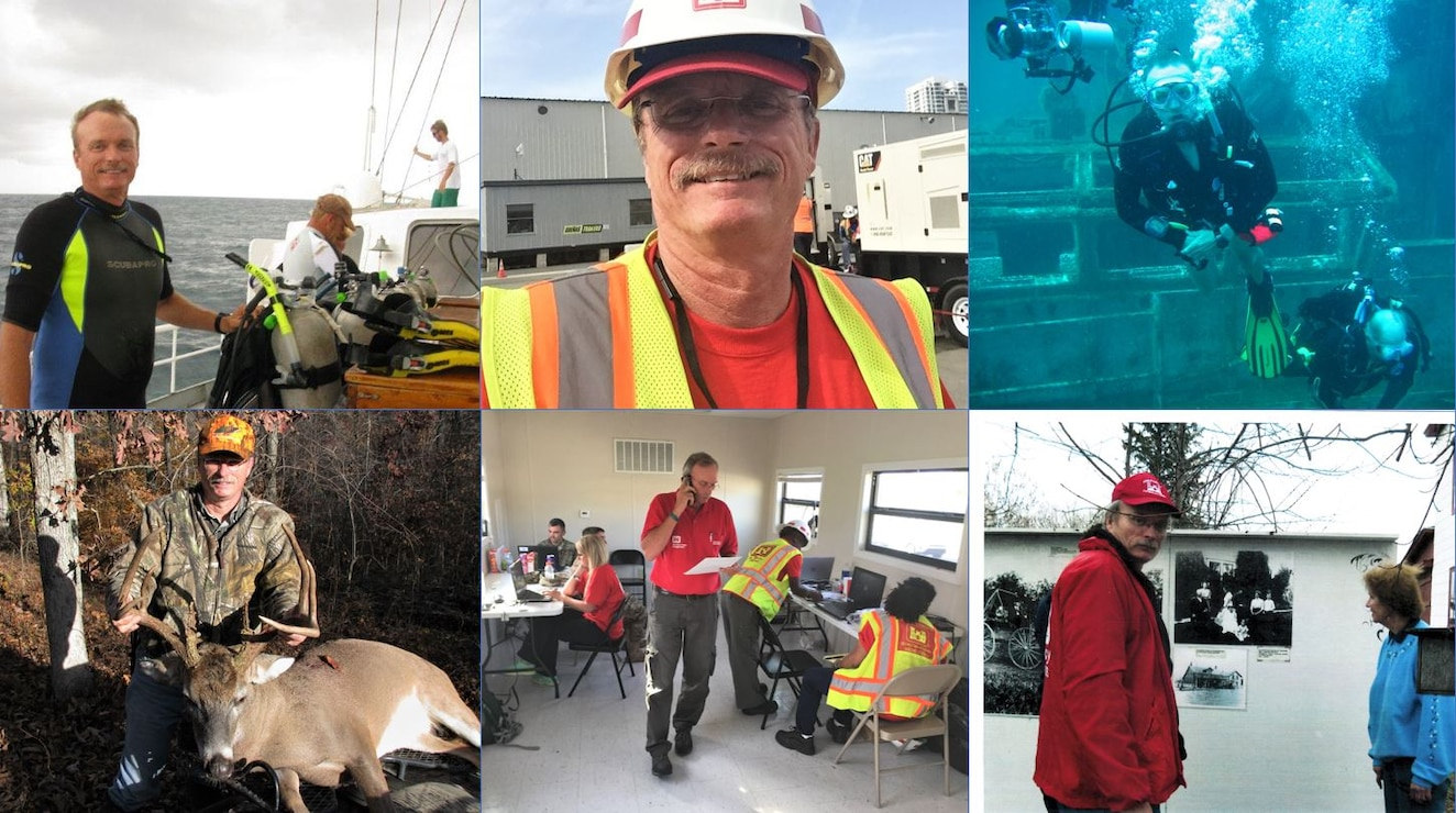 IN THE PHOTOS, Wildlife Biologist and Project Manager Randy Clark retired from the Memphis District after serving 37 years of federal service. Congratulations and many thanks for your dedicated service to the U.S. Army Corps of Engineers mission and this great nation. (Courtesy photos)