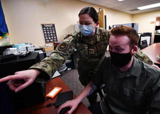 944th Fighter Wing Reserve Citizen Airmen came together to plan what is normally a major social event for the unit, while keeping health safety measures in mind.