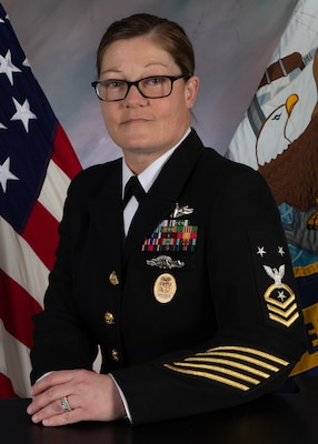 PENSACOLA, Fla. (Feb. 9, 2021) Official photo of Command Master Chief Jennifer M. Newman. (U.S. Navy photo)