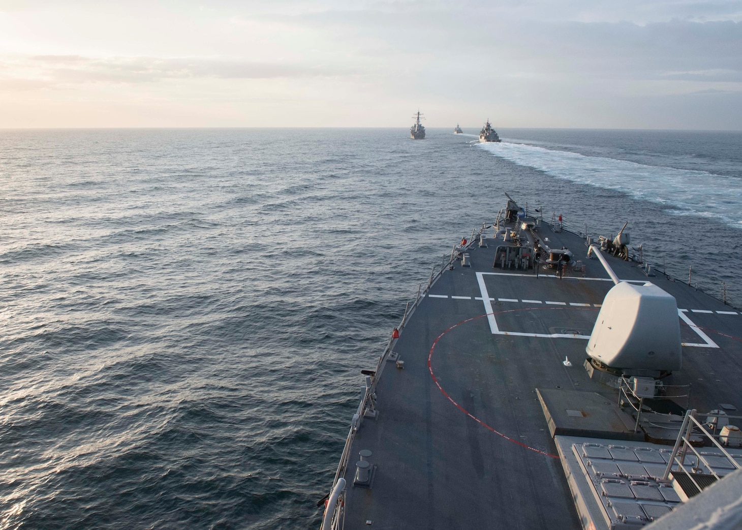 USS Porter (DDG 78) operates with the Turkish navy in the Black Sea.
