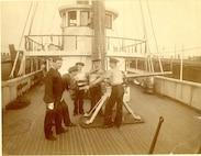 6-pounder Drill aboard a Revenue Cutter