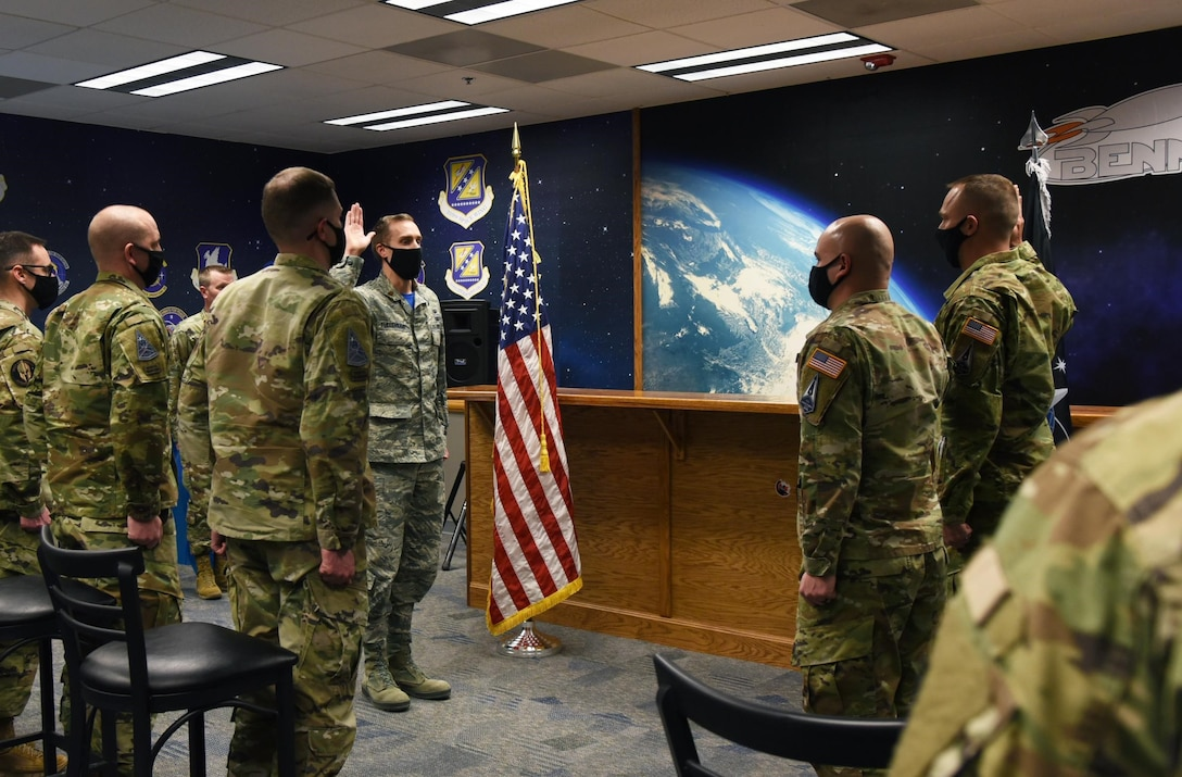 Former Airmen from Space Delta 9 transfer into the USSF