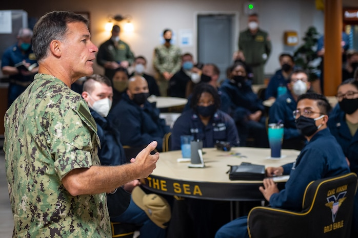 U.S. Pacific Fleet Commander Visits San Diego for Discussion on Extremism