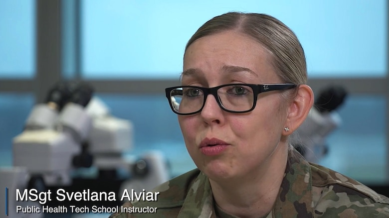 Watch as Air Force Research Laboratory MSgt Svetlana Alviar shares her LEAP experiences.