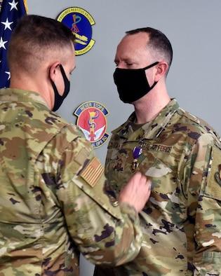 Wright-Patt Airman receives Purple Heart