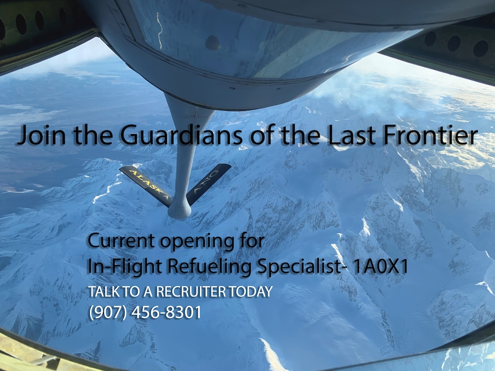 Joint the Guardians of the Last Frontier! Talk to a Recruiter Today (907) 456-8301