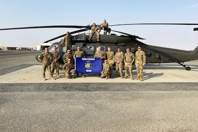 Wisconsin Guard medevac unit answers the call in Middle East