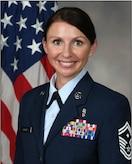 Official portrait of SMSgt Elise Phillips