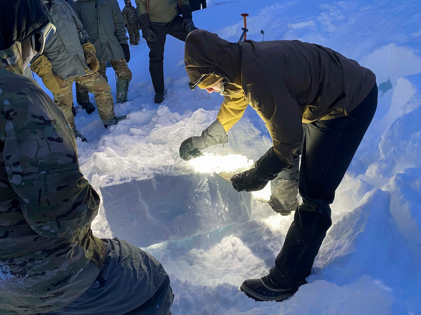SERE specialists conquer the arctic