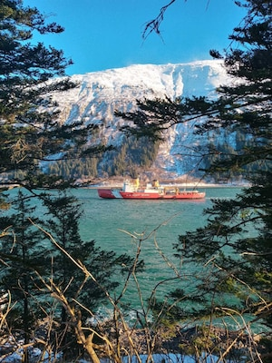 Coast Guard Cutter Polar Star makes port call in Juneau, Alaska