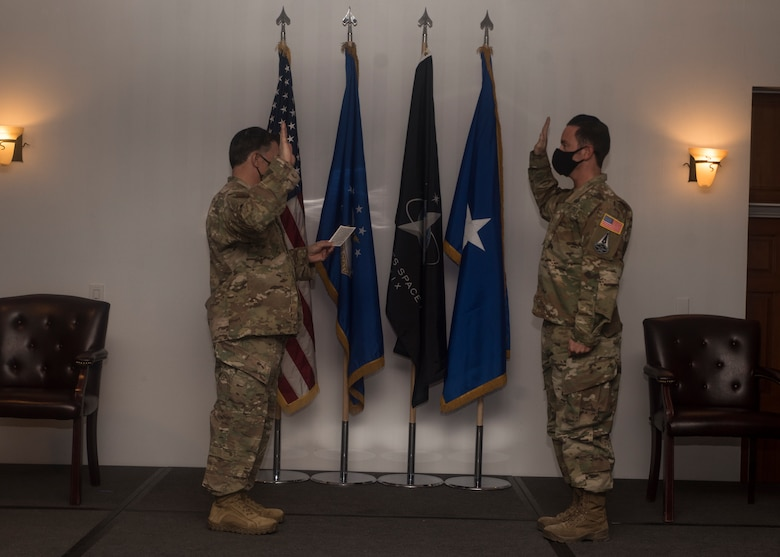 A photo of a Guardian swearing in