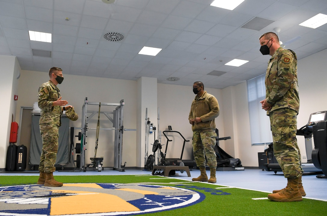 Leadership from the 3rd AF gained insight on the base's priorities, mission capabilities, and plans for future innovation during their visit here.