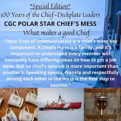Polar Star Chiefs Mess is the deckplate leader of the week this week!