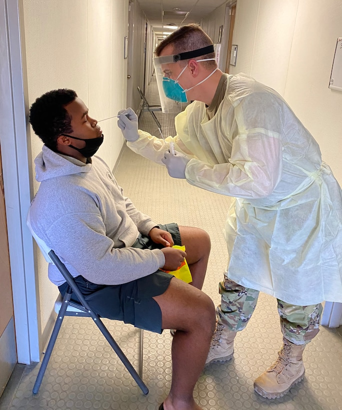 Army Reserve Medical Command unit undertakes COVID isolation and quarantine mission at Fort Bliss