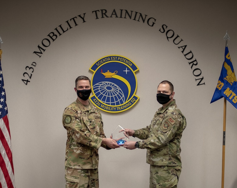 USAF Expeditionary Operations School Defender is AMC's 2020 Outstanding Security Forces Support Staff SNCO