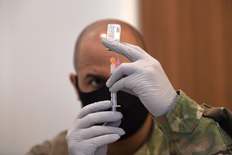 Kadena Airmen Motivated to Receive COVID Vaccine