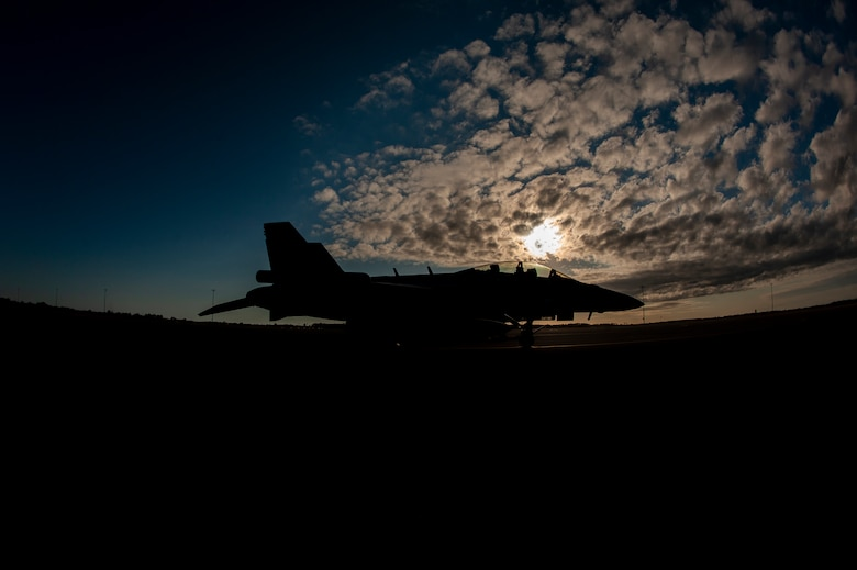 A Navy EA-18G Growler from the Electronic Attack Squadron 209, Naval Air Station Whidbey Island, Washington, is waiting to be refueled on the flight line at MacDill Air Force Base, Florida, on Jan. 22, 2021. Joint operations allow every branch to train together and operate at their greatest capacities with minimal limitations, ensuring mission success both locally and globally. (U.S. Air Force photo by Airman 1st Class David D. McLoney)