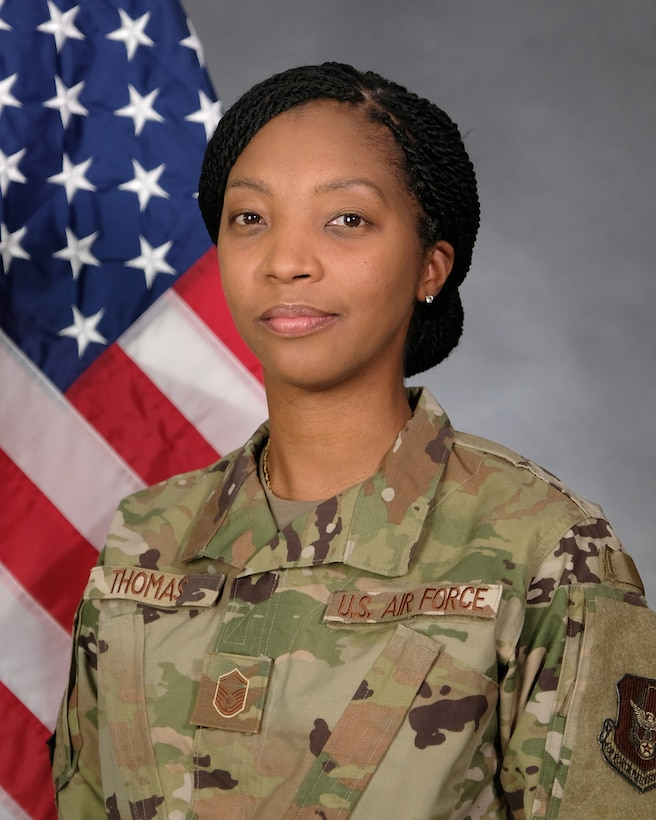 Master Sgt Canvis Thomas