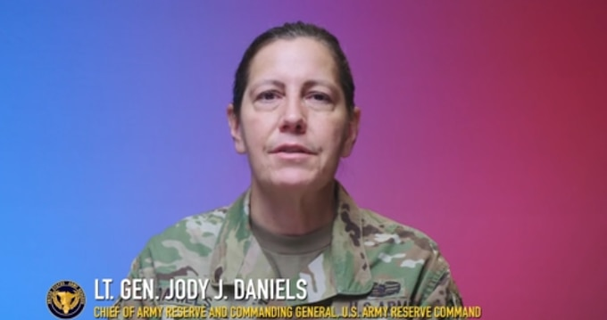 Lt. Gen. Jody Daniels, chief of Army Reserve and commanding general, U.S. Army Reserve Command, speaks out against extremism. Extremism is not welcome in our ranks and we must get back to the culture of dignity and respect so that we can be ready now, shaping tomorrow.