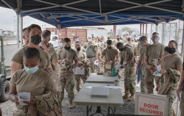 DLA Team Ensures U.S. Troops in Africa Receive COVID-19 Vaccine